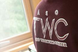 TWCの背中